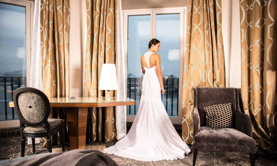 sukni ślubnej