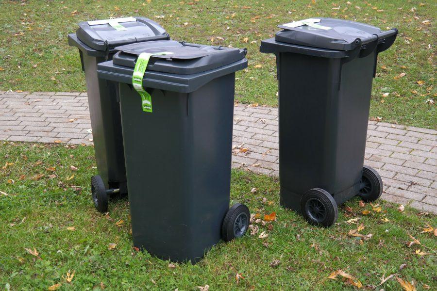 Kosz aby selekcjonować śmieci
